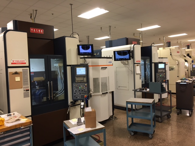 Ultra-precision Yasda 5-axis machining center