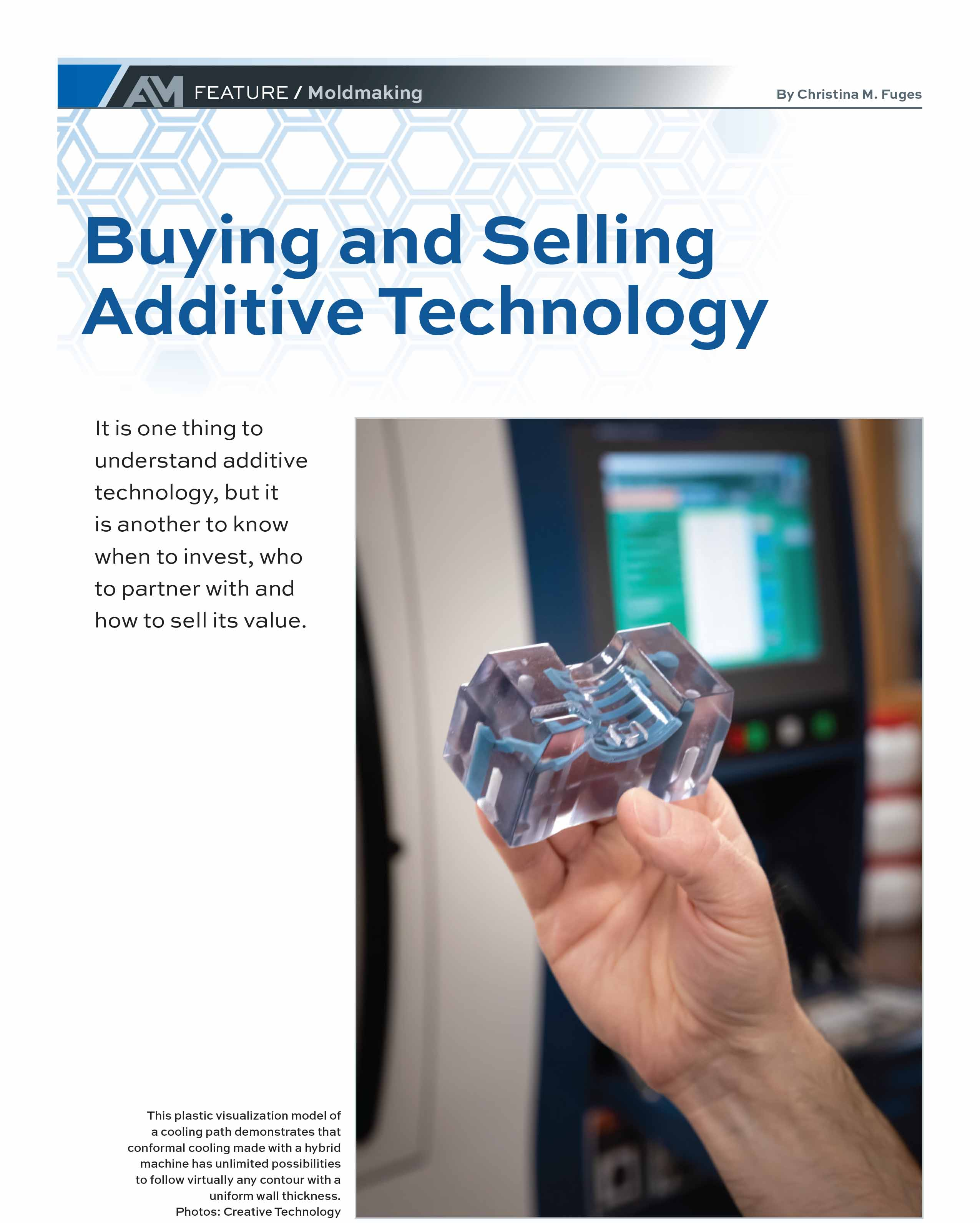 Additive Manufacturing Cover